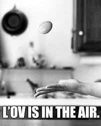 l'ov is in the air